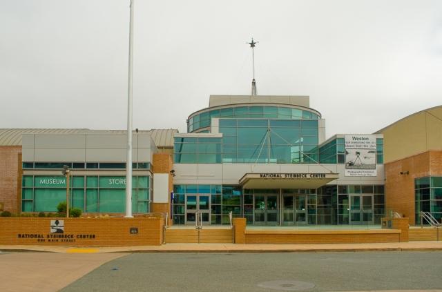 John Steinbeck center, Salinas CA (C) Len Wilcox