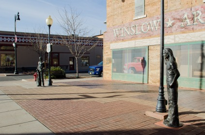 Standin' on a corner in Winslow Arizona...