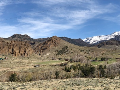 West of Cody, Wyoming