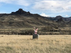 Bob's Big Boy in a field west of Cody, Wyoming