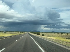 Thurdstorm on Interstate 40