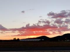 Sunset in Williams