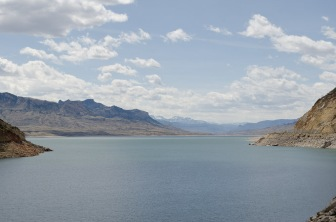 Buffalo Bill reservoir, west of Cody, Wy