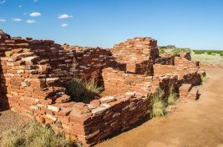 ruins at Wupatki